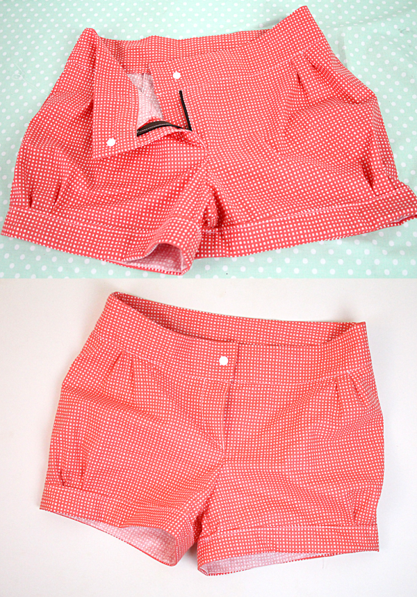 anleitung shorts selber machen