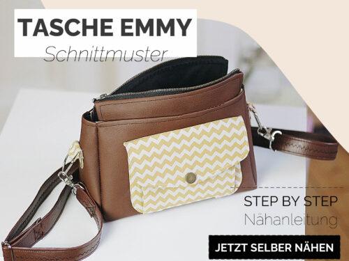 Schnittmuster Tasche Schultertasche ledertasche